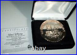 Rare Walt Disney World Official Opening Oct 1971 Medallion Coin LE #455 of 1971
