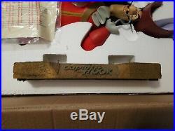 Rare Walt Disney World Peter Pan's 28 Captain Hook Big Fig FIGURE NEW w BOX COA