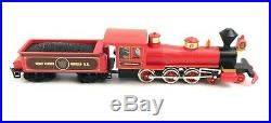 Rare Walt Disney World Railroad HO SCALE Electric Train Set w Power Loc Track