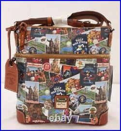 Run Walt Disney World 2018 Marathon Dooney & And Bourke Crossbody Letter Carrier