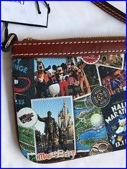 Run Walt Disney World 2018 Marathon Dooney & And Bourke Wristlet Bag Purse 1