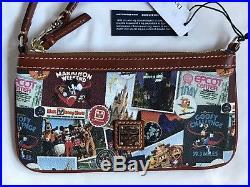 Run Walt Disney World 2018 Marathon Dooney & And Bourke Wristlet Bag Purse 7