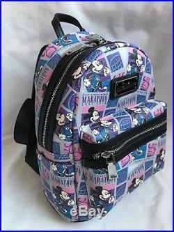 7663a376ce2 Run Walt Disney World Parks 2018 Marathon 25th Anniversary Mini Backpack Bag  2