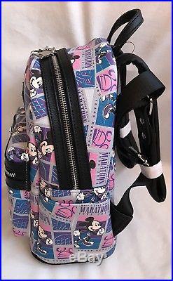 Run Walt Disney World Parks 2018 Marathon 25th Anniversary Mini Backpack Bag 2
