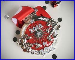 Rundisney finisher medals Walt Disney world Dopey Challenge 5 medals 25th anniv