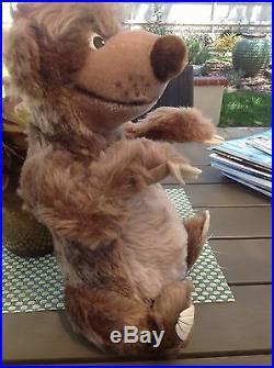 STEIFF Teddy Bear Baloo 13 1/2 Walt Disney World Convention 1995