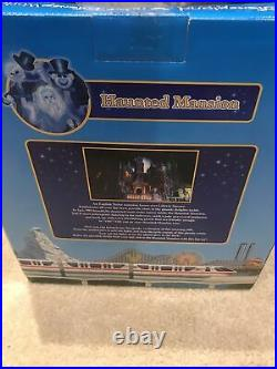 Sealed Walt Disney World / Disneyland Haunted Mansion Monorail Playset