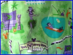 Shag autographed Walt Disney World 1971 shirt men's large monorail RaRe