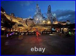 Star Wars Disney Galaxy's Edge JEDI TEMPLE GUARD Legacy Lightsaber Retired NIB