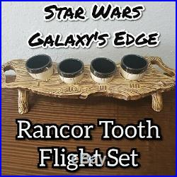 Star Wars Galaxys Edge 1st Edition Rancor Tooth Flight Set Ogas Cantina Disney