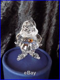 Swarovski crystal Walt Disney world snow white and 7 dwarfs boxed mint uk
