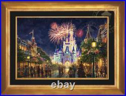 Thomas Kinkade Disney Main Street USA 18 x 27 Limited Edition G/P Gallery Proof