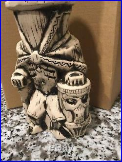 Trader Sam's Tiki Mug Hatbox Ghost Haunted Mansion Walt Disney World Grog Grotto