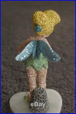 Used $9500 WALT Disney World Swarvoski crystal Tinkerbell statue rare Tink
