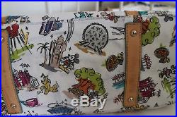Used Dooney & Bourke Walt Disney World Resort Disneyana Smith Purse Bag