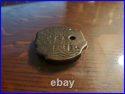 VERY RARE Vintage Walt Disney World PIECES OF EIGHT Pirates Caribbean Coin