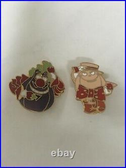 VERY RARE Walt Disney World Epcot Food Rocks Kitchen Kabaret Collectors Pins