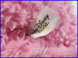 VERY RARE Walt Disney World Hidden Mickey Pre-Duffy Bear 16 Plush PINK Duffie