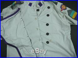 VINTAGE Walt Disney World TOMORROWLAND chef shirt cast member COSTUME uniform