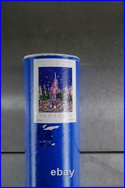 VTG 25th Anniversary Walt Disney World Yamagata Art Poster 1996 24 x 36