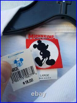 Vintage 90s Walt Disney World 25th Anniversary LION KING Mickey Genie shirt