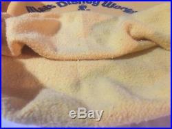 Vintage RARE Walt Disney World Crewneck Sweatshirt Large 42-44 Double Sided USA