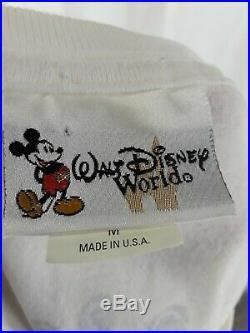 Vintage Splash Mountain Walt Disney World T Shirt Size Medium RARE Original