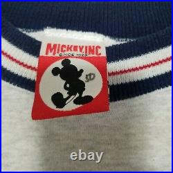 Vintage Walt Disney World Embroidered Four Parks Sweatshirt Sz XL VERY RARE