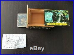 Vintage Walt Disney World Haunted Mansion Secret Panel Chest Box With Drawer