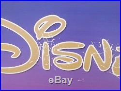 Vintage Walt Disney World Magic Kingdom Sign 66 X30 Rare Prop Mickey Mouse