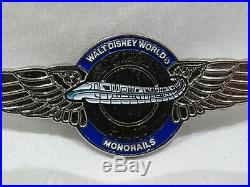 Vintage Walt Disney World Monorail Pilot Pin
