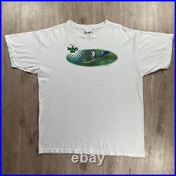 Vintage Walt Disney World Pixar A Bugs Life T-Shirt 1990s Mens Size XL White