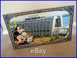 Vintage Walt Disney World Resort Monorail Play Set green Stripe Box Collectable
