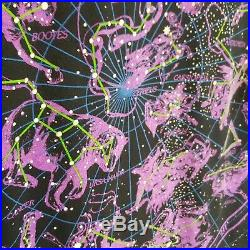 Vtg 93 DISNEY Liquid Blue All Over Print Constellations Stars T shirt Walt World