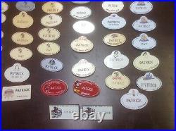 WALT DISNEY WORLD CAST MEMBER NAME TAG BADGE Patrick VARIETY LOT OF 67