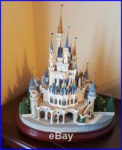 WALT DISNEY WORLD CINDERELLA CASTLE Miniature Olszewski RARE