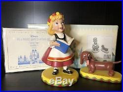 WDCC Its a Small World Germany Guten Tag! Box + COA Walt Disney Classics