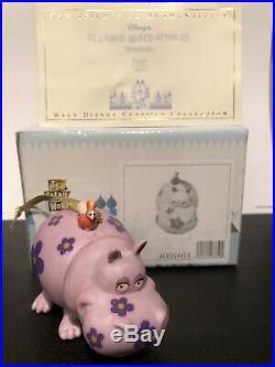 WDCC Its a Small World HIPPO AFRICA ORNAMENT BOX + COA Walt Disney Classics