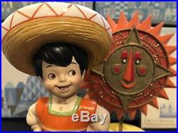 WDCC Its a Small World MEXICO Bienvenido Welcome Box + COA Walt Disney Classics