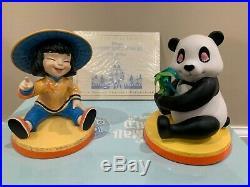 WDCC WALT DISNEY CLASSICS COLLECTION CHINA & PANDA Ni Hau ITS A SMALL WORLD