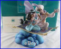 WDCC Walt Disney Classics A Whole New World Aladdin and Jasmine MIB With COA