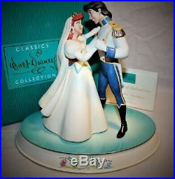 WDCC Walt Disney Classics Collection Ariel & Eric TWO WORLDS, ONE HEART & BASE