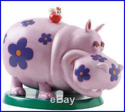 WDCC its a small world after all Hippo Jungle Blossom COA MIB walt disney
