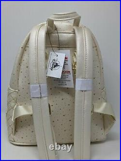 WDW 50th Anniversary Cinderella Castle Loungefly Mini Backpack Walt Disney World