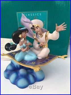 Walt Disney Classic Collection WDCC A Whole New World Aladdin & Jasmine 698/1992
