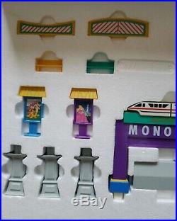 Walt Disney Disneyland disneyworld Monorail Switch Station WithBox NEW