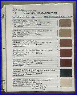 Walt Disney Imagineering Paint Documentation Bibbidi Prop World Peter Pan Tink E