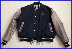Walt Disney LION KING crew OFFICIAL WORLD TOUR JACKET 1994 size XL wool leather