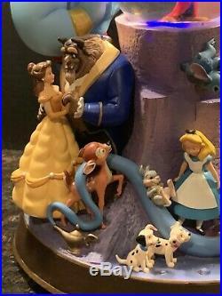 Walt Disney Wonderful World Of Disney Musical Snowglobe