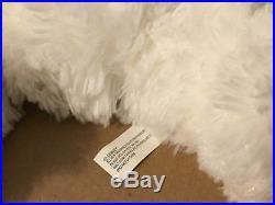 Walt Disney World 16 Plush White Hidden Mickey Pre-DUFFY BEAR Stuffed Animal